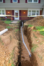home inspection with sewer scoping